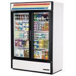 True GDM-49-HC-TSL01-WHT White Swing Glass Door Merchandiser 49.0 cu.ft. 54W