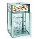 Wisco Humidified Pizza Merchandiser 4 Rotating Shelves