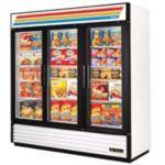 True GDM-72F-LD-WHT White Ice Cream Merchandiser Freezer 72.0 cu.ft.