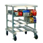 Portable Can Rack, Poly Top