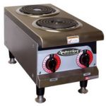 Superior 12 Electric Hot Plate Two Coil Plates - STOCKED ITEM