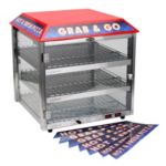 3 Shelf Pizza Merchandiser - STOCKED ITEM