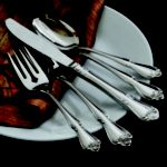 Arbor Rose Flatware, Teaspoon 36 per case - STOCKED ITEM