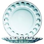 Roc Glass, Dessert Plate 6 36 per case - STOCKED ITEM