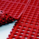 VIP-Prima Connector Matting Grease-Resistant Red - STOCKED ITEM