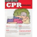 Safety Poster, CPR - STOCKED ITEM