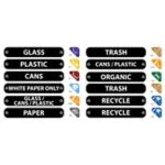 Recycling Label Kit - STOCKED ITEM